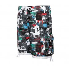 Men's Summer Quick Drying Hawaii Stylish Loose Elastic Summer Beach Shorts