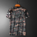 Men's Breathable T-Shirt | Cotton Printed Short Sleeve Tee Shirts