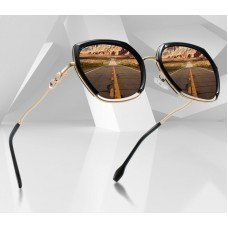 Square Polarized Sunglasses Women Luxury BRAND DESIGN Fashion Oversized Driving Sun glasses For Ladies Travel Goggle UV400