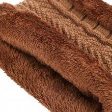 Fashion Knitted Winter Hats For Men Thick and Warm women Winter Hat Black Autumn Beanie Hat Men Wool Ski Hats Beanies Bonnet