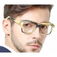 Fashion Acetate Sport Style Clear Glasses | Prescription Lens Optical Frame |Unisex Style