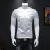 Men's Chic Summer T-Shirt | Fashion Printed Elegant Summer T-Shirt