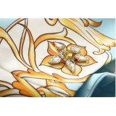 Summer dress | Flower Print Diamonds Slim Tank | Office Dress